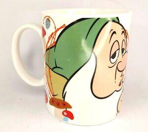 Sleepy until Coffee Disney 7 Dwarfs Coffee Mug Cup Park Avenue DW & MW Safe