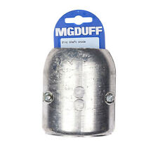 """Quality Mgduff Zinc Shaft Anode 7/8"""" 22mm With Insert Boating Yacht BS21"""