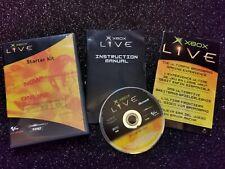 Xbox Original start up disc manuals only FREE P&P