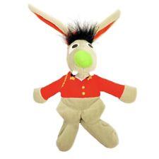 "Sesame Street Bellhop Benny Rabbit 8"" Plush Beanie 1997 Tyco Stuffed Animal Toy"