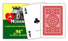 Carte da Gioco Poker 98 Colore Rosso Modiano 300252