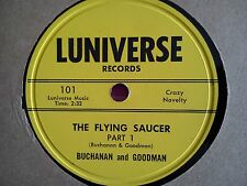 78 Tours BUCHANAN AND GOODMAN-THE FLYING SAUCER PART 1/THE FLYING SAUCER PART 2