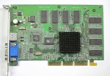 NVIDIA NV880.0 GeFORCE 2MX 64MB AGP VGA VIDEO CARD S/VIDEO SCHOOL SURPLUS