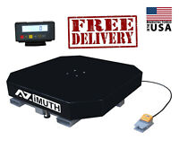 NEW SCALE Pallet Wrapper (Stretch Wrapper) Turntable High Profile AZIMUTH