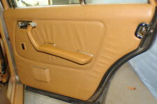 84 Mercedes 300D Right Rear Door  Panel with Armrest Palimino