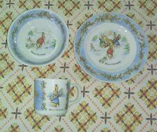 Wegwood and peco Peter Rabbit Dishes