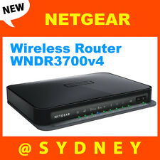 NEW Netgear WNDR3700 RangeMax Dual Band Wireless-N N600 Gigabit Wifi Router