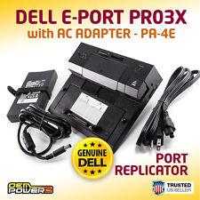 DELL PRECISION M4600 M4800 M6400 M6600 M6800 PR03X E-Port Replicator +AC Adapter