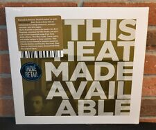 THIS HEAT - Made Available LP, Limited OLIVE SEPIA COLORED VINYL NEW + POSTER!
