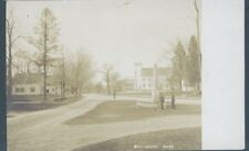 BELLINGHAM MASSACHUSETTS STREET SCENE PM 1908 RPPC/STAPLES (Jl3-848)
