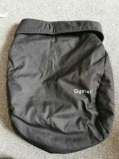 Oyster 2 / Max pushchair APRON footmuff - tungsten grey .