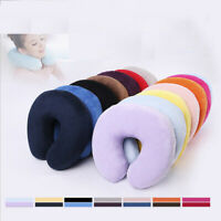 Car Flight Villus Convenient Headrest Neck Foam Cushion U Shaped Memory Pillow