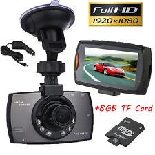 "Full HD 1080P 2.7"" Car DVR Vehicle Camera Dash Cam Night Vision + 8GB TF Card CA"