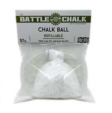 BATTLECHALK Refillable Chalk Ball 57g Climbing Bouldering,Weightlifting CrossFit