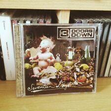 Cd album SEVENTEEN DAYS dei 3 Doors Down musica cd musicale punk pop rock indie
