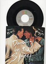 David Bowie w/Mick Jagger Dancing In The Street/Instrumental US 45 w/PS