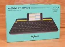 Genuine Logitech (K480) Multi Device Keyboard For Smart Phone or Tablet