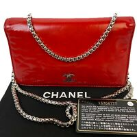 CERTIFIED AUTH. CHANEL Camilla CC Lambskin Leather Long Wallet~US SELLER