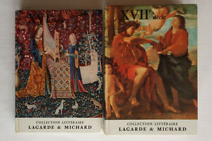 Lot Collection littéraire Lagarde & Michard - XVIe siècle et XVIIe siècle - BE
