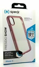 Genuine Speck Presidio Show Dual Layer Case Cover For iPhone X Rose Gold New