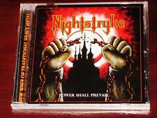 Nightstryke: Power Shall Prevail CD 2017 Stormspell Records USA SSR-DL-224 NEW