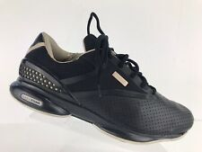 Reebok Black Leather EasyTone Toning Fitness Muscle Athletic Shoes Women's 10