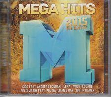 MEGA HITS 2015 DIE DRITTE / SIDO / LENA / AVICII / LOUANE ... / 2 CD