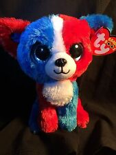 """Ty Beanie Boo Boos 2017 VALOR the Dog 6"""" MWMT Cracker Barrel Exclusive IN HAND!!"""