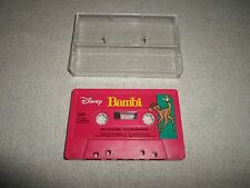 Tested! Disney Bambi & It's Small World Cassette Tape for Story Book Read A Long