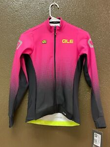 Alé Cycling PRS Dots Long Sleeve Jersey - Pink - Women's Small