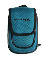 Nintendo DS Travel Carry Case Pouch Teal Nylon Great Condition