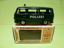 VOLKSWAGEN T2  POLIZEI  - CKO KOVAP   BLECH - GOOD CONDITION IN BOX