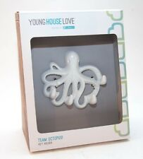 YOUNG HOUSE LOVE Team Octopus WHITE Key Holder Hook TARGET NEW