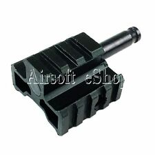 Airsoft WELL Tri-Rail Bipod Adaptor Connector for Warrior L96A1(MB01,MB04,MB05)
