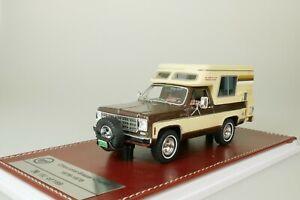 Chevrolet Blazer Chalet 1976 Braun - Beige #127 De 199 1/43 GIM GIM069A Neuf