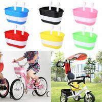 1 Pc Bicycle Basket Children Bike Plastic Hanging Front Handlebar Carrier Saddle