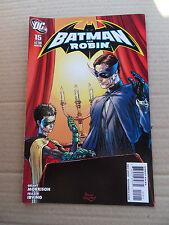 Batman And Robin 15 . Joker App . DC 2010 - VF - minus