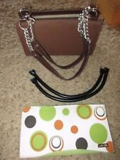 MICHE CLASSIC BROWN BASE & CHAINS + BLACK STRAPS 4 Carabeaners