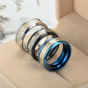 Dragon - Luminous / Glow in the Dark Ring - Many Colors and Sizes