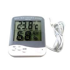 Digital Thermometer Hygrometer Humidity Monitor Probe for Egg Incubator Hive
