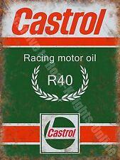 Castrol R Racing Motor Oil, 135 Petrol Old Vintage Garage Novelty Fridge Magnet
