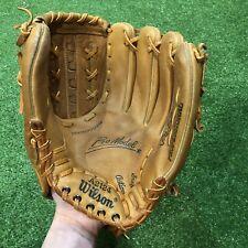 "Japan Made Wilson A2124 12"" Leather Baseball Glove RHT Fred Lynn"