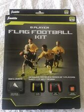 New - Franklin Sports Youth 8 Player Flag Football Kit