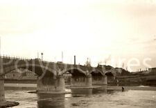 Lyon Rhône train viaduc de Perrache Repro tirage photo ancienne déb. XXe siècle