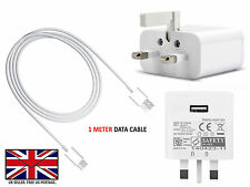 Wall Adaptive Fast Charger Head Plug and Type C Cable For HTC Wildfire X