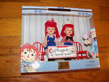 Storybook Favorites #1: Tommy & Kelly as Classic Raggedy Ann & Andy 1999 NRFB