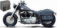 Sacoche de selle 28l, Harley-Davidson softail Custom, Fat Boy, Blackline déballer cendres NEUF