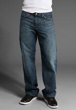 $169 Men's Seven 7 For All Mankind Relaxed Straight Jeans New York Dark 28 30