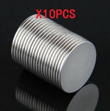 10PCS Super Strong Round Magnet Disc Slice 15 mm X 1 mm Rare Earth Neodymium N50