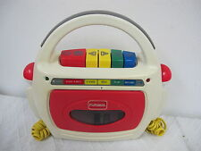 PLAYSKOOL  TAPE RECORDER CASSETTE PLAYER WITH DUAL MICROPHONES